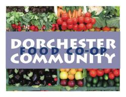Dorchester, Community, Food, Co-op, Holiday