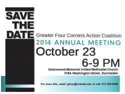 GFCAC Annual Meeting