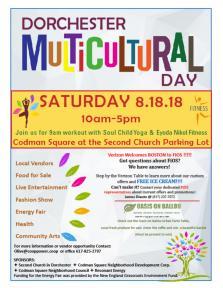 dorchester multicultural day