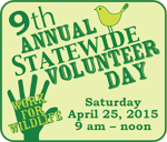 statewide volunteering day graphic