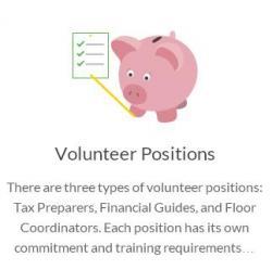 tax prep volunteer
